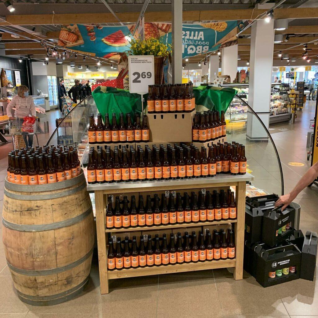 Bourgondische Broeders brengen nieuw bier op de markt.